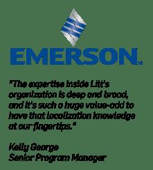 Emerson Logo Customer Quote